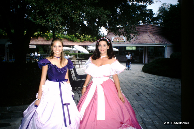 Beautiful girls at Cypress Gardens