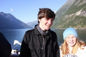 Baltics cruise in Geirangerfjord