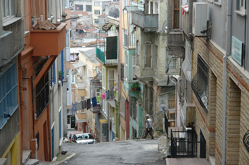 Istanbul neighborhood