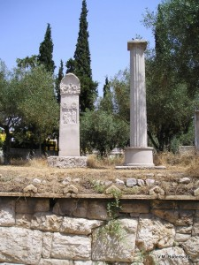 Athens, Greece, ancient cemetery
