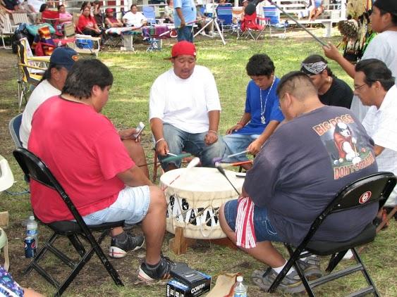 Omaha drum circle