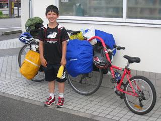 Boy Biker in Japan