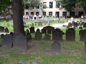 Old Granary Burial Ground, Boston