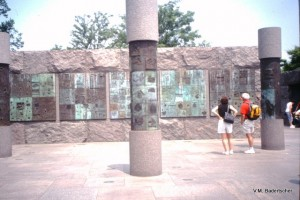 Roosevelt Memorial in Washington D.C.