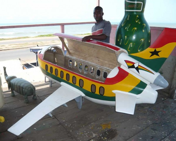 Ghana coffin