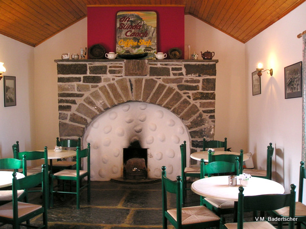 Cafe at , Inishmore, Ireland