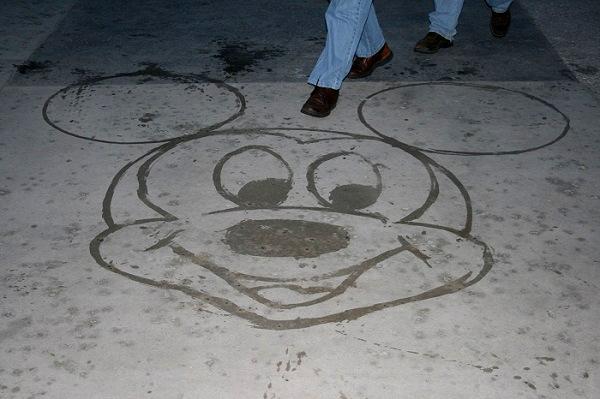 Disney street art