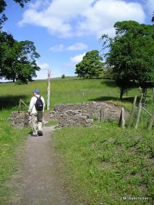 Ken climbs the Cashel Hill