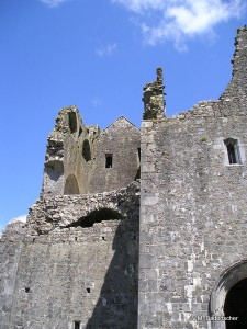 Exterior walls of Rock of Cashel