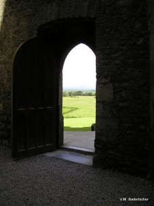 View of countryside beyond Rock of Cashel