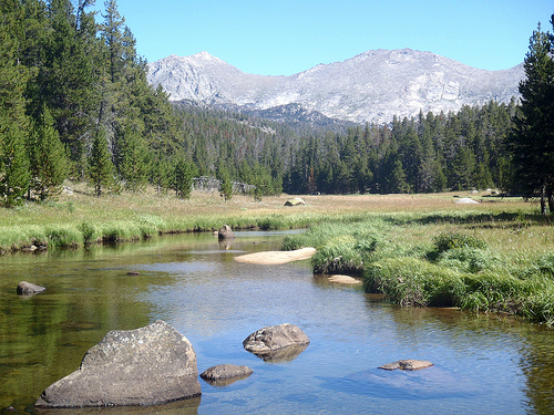 Big Sandy Creek in Wyoming.