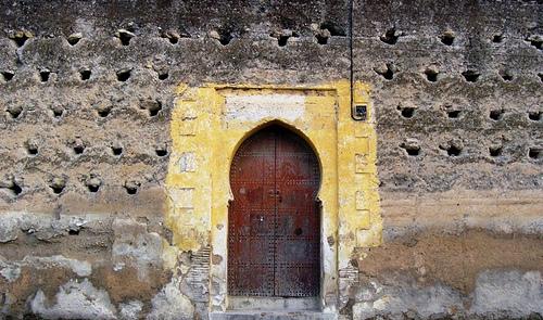 Fez Morocco doorway