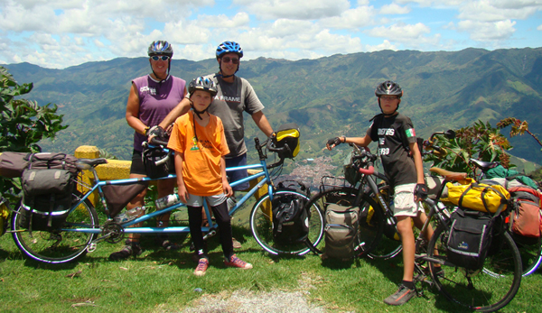 Family Bike Trip in Andes