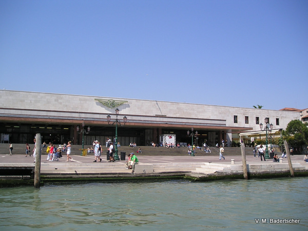 Venice Railroad Station, part of Venice history under Austria