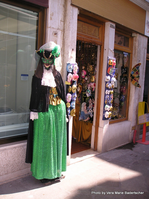 Carnivale is part of Venice history.
