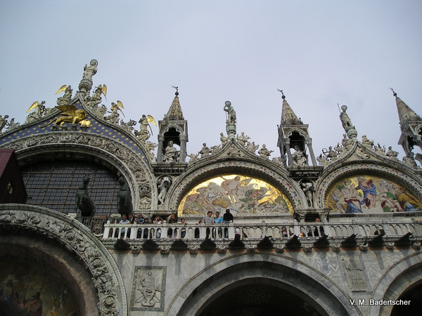 Venice History includes San Marcos Cathedral