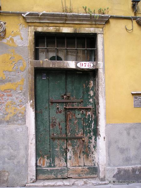 Venice History door