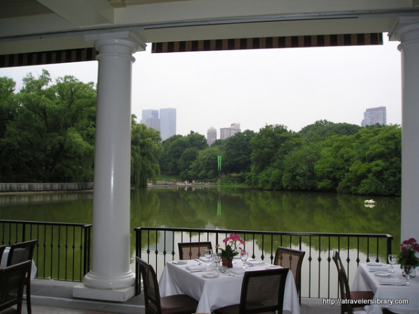 NYC Central Park Boathouse