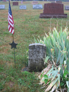 Civil War Veteran Grave: Henry Butts