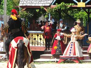 Elizabethan England joust re-enacted