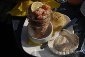 Scotland Food: Mallaig Prawns