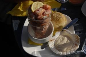 Scotland Food: Mallaig Prawns