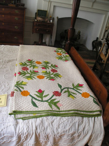 Quilt in Andrew Jackson Bedroom
