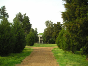 Andrew Jackson home entrance
