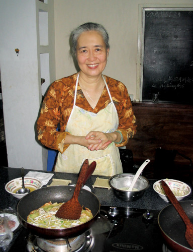 Vietnamese Food teacher Mrs. Cam Van