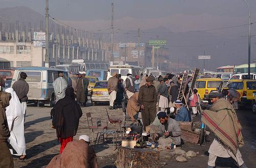 Afghanistan Kabul Street