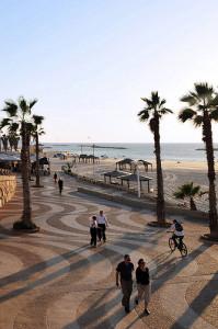 Tel Aviv beach walk