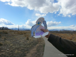 Flat Stanley in Colorado