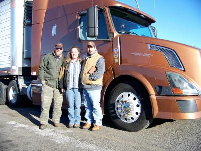 Montana road trip truckers