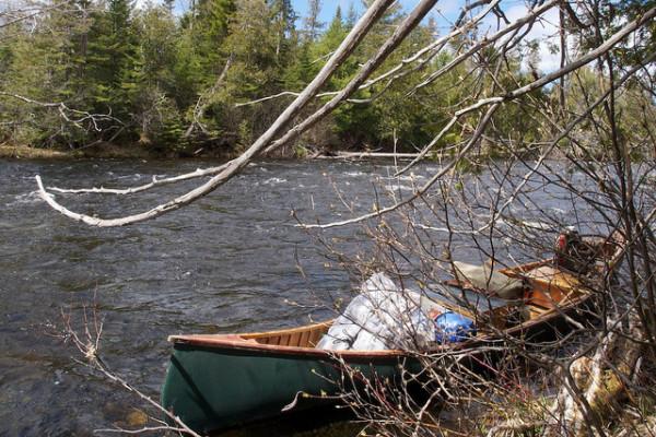 Maine canoe