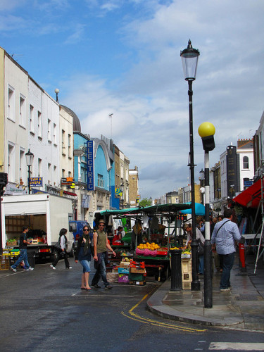 Market Day, Portobello Road, Notting Hill, London