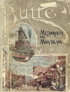 Butte Montana brochure
