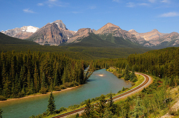 Canadian railroad Bow Valley