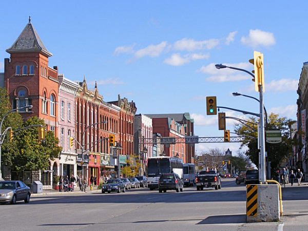 Downtown Stratford Canada