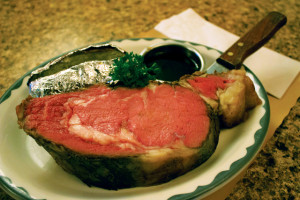 Wisconsin Supper Club Prime Rib