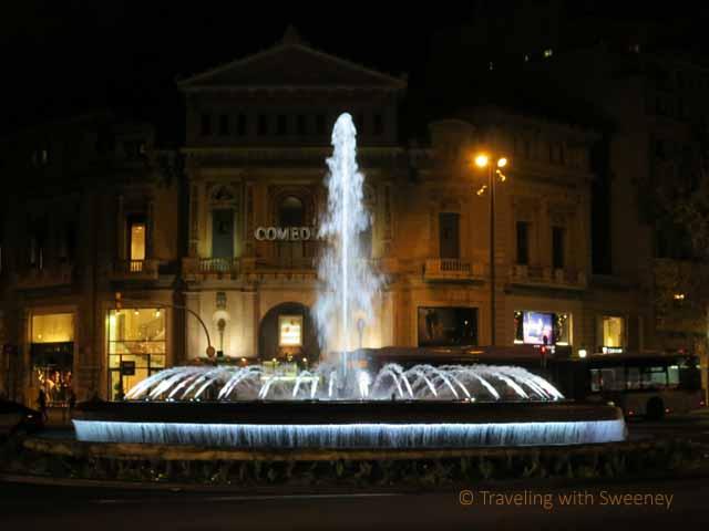 """ Passeig de Gràcia Fountain, Barcelona"""