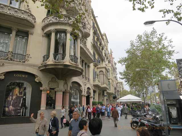"""Loewe's department store on Passeig de Gràcia, Barcelona"""