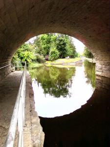 River Avon in Stratford Canada