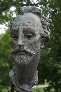 Shakespeare Bust in Stratford Canada