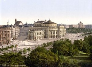 Vienna, 1900 via Wikimedia Commons