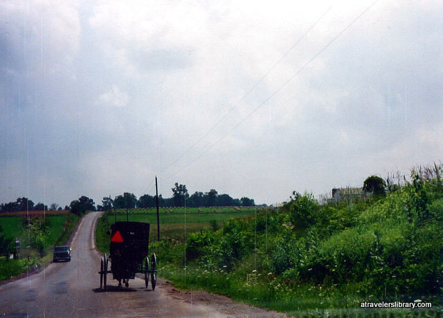 Amish buggy, Holmes County Ohio