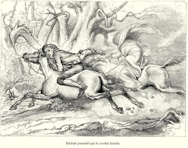 Sleepy Hollow Legend in etching