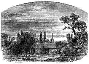 Legend of Sleepy Hollow church then