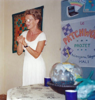 Bonnie Lee Black in Mali