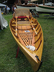 A Thames skiff like the one used in 3 Men in a Boat.