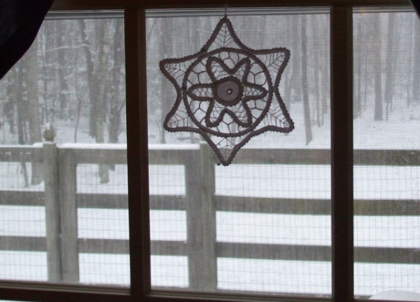 Celtic Christmas star